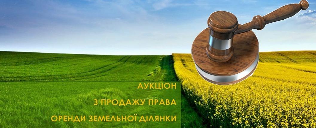 Проведення земельних торгів у формі аукціону з продажу права оренди  земельних ділянок   Новини   Печеніжинська ОТГ